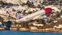 LN-DYW - Norwegian Air Shuttle Boeing 737-800 aircraft