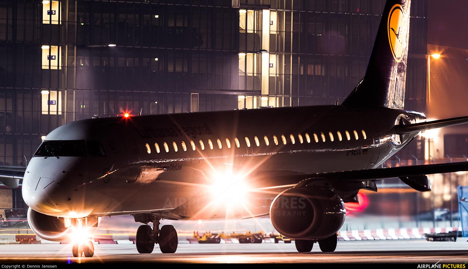 Lufthansa Regional - CityLine D-AECC aircraft at Frankfurt