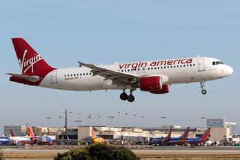N642VA - Virgin America Airbus A320