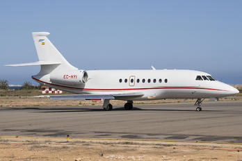 EC-HYI - Gestair Dassault Falcon 2000 DX, EX