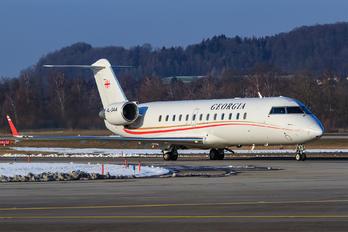 4L-GAA - Georgia - Government Canadair CL-600 CRJ-850