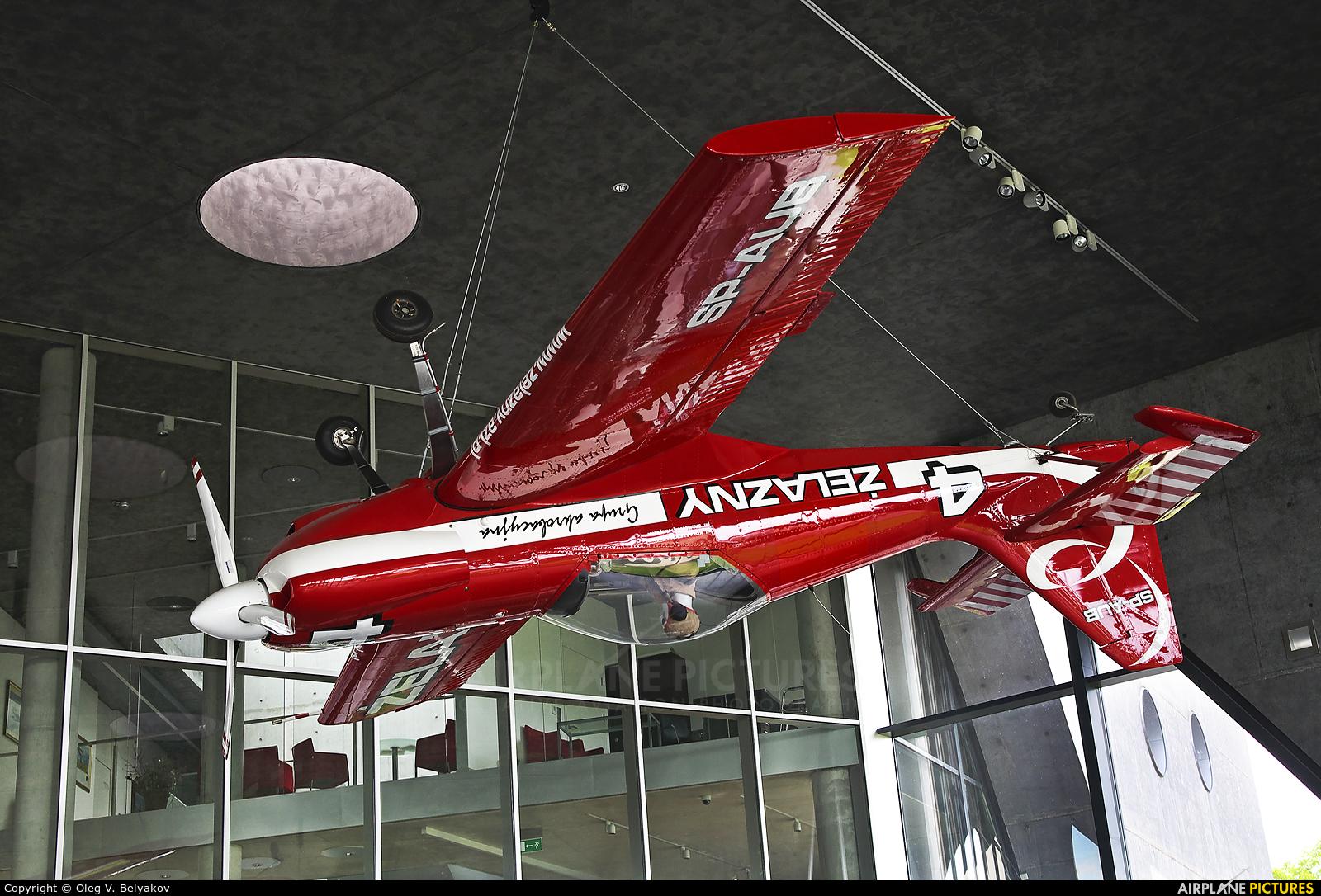 Grupa Akrobacyjna Żelazny - Acrobatic Group SP-AUB aircraft at Kraków, Rakowice Czyżyny - Museum of Polish Aviation