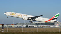 A6-ENQ - Emirates Airlines Boeing 777-300ER aircraft
