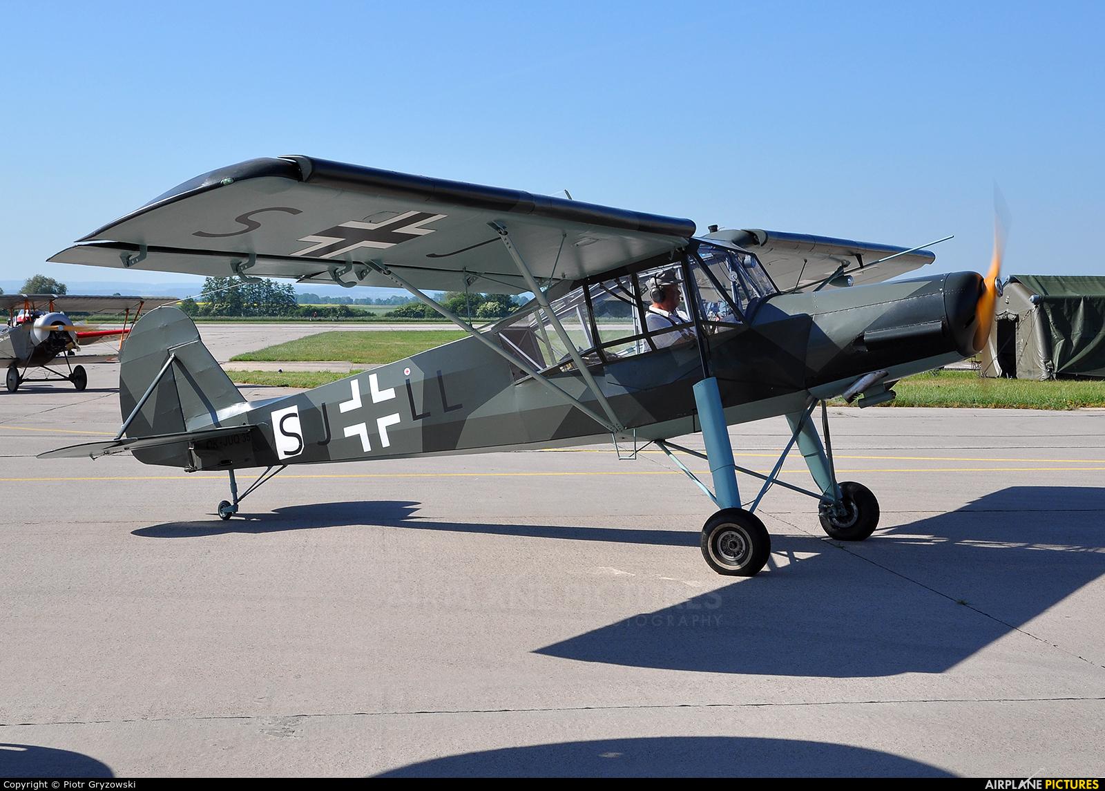 Private OK-JUQ35 aircraft at Pardubice