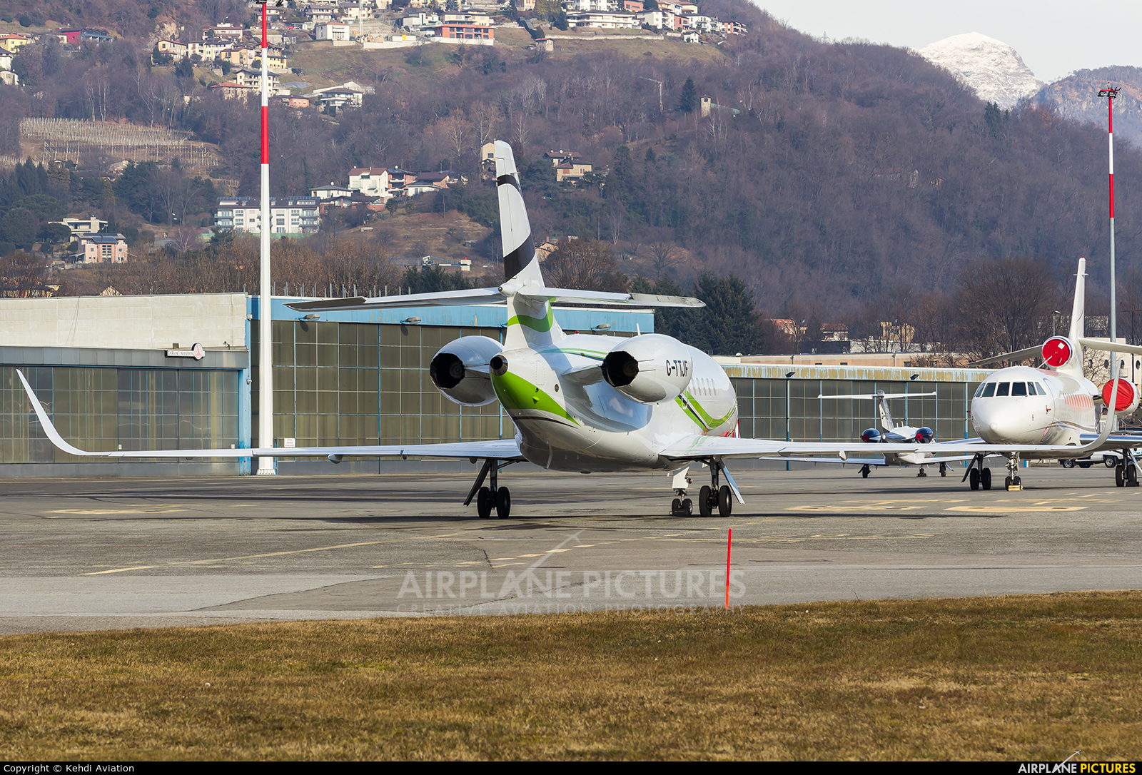 TAG Aviation G-TTJF aircraft at Lugano - Agno