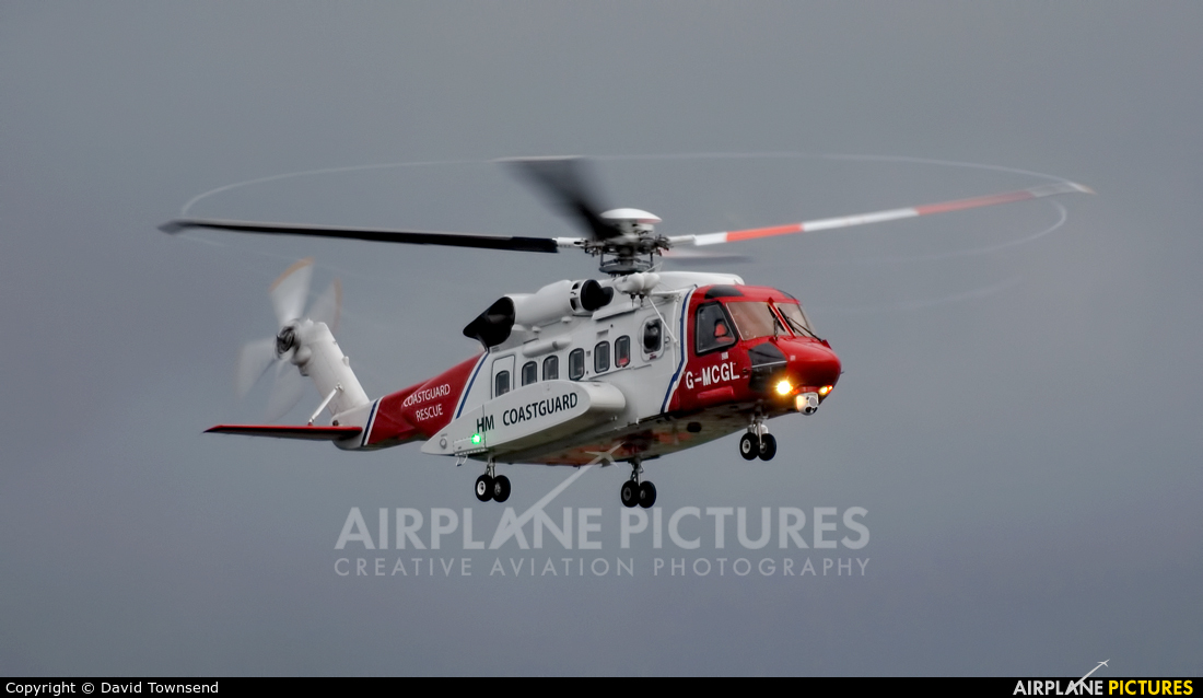 Bristow Helicopters G-MCGL aircraft at Prestwick