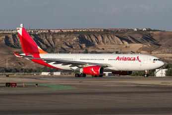 N508AV - Avianca Airbus A330-200