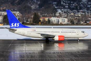 LN-TUA - SAS - Scandinavian Airlines Boeing 737-700