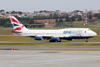 G-CIVI - British Airways Boeing 747-400