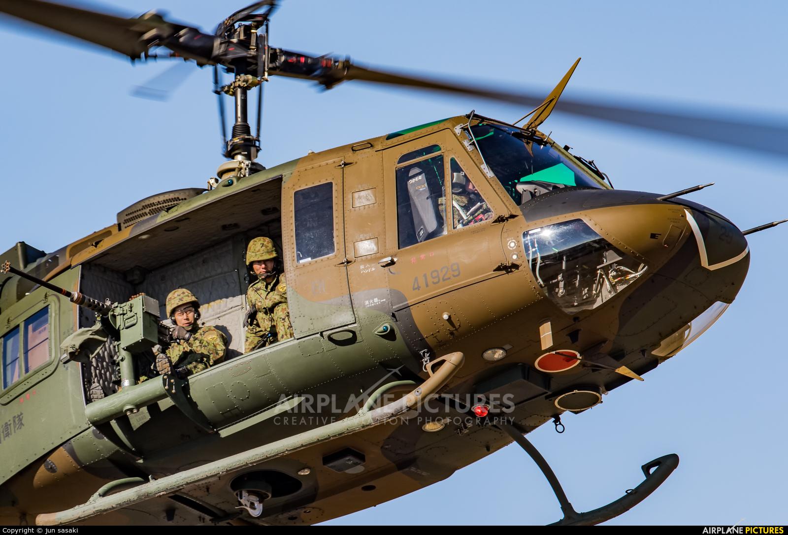 Japan - Ground Self Defense Force 41929 aircraft at Off Airport - Japan