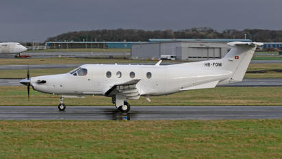 HB-FQM - Private Pilatus PC-12