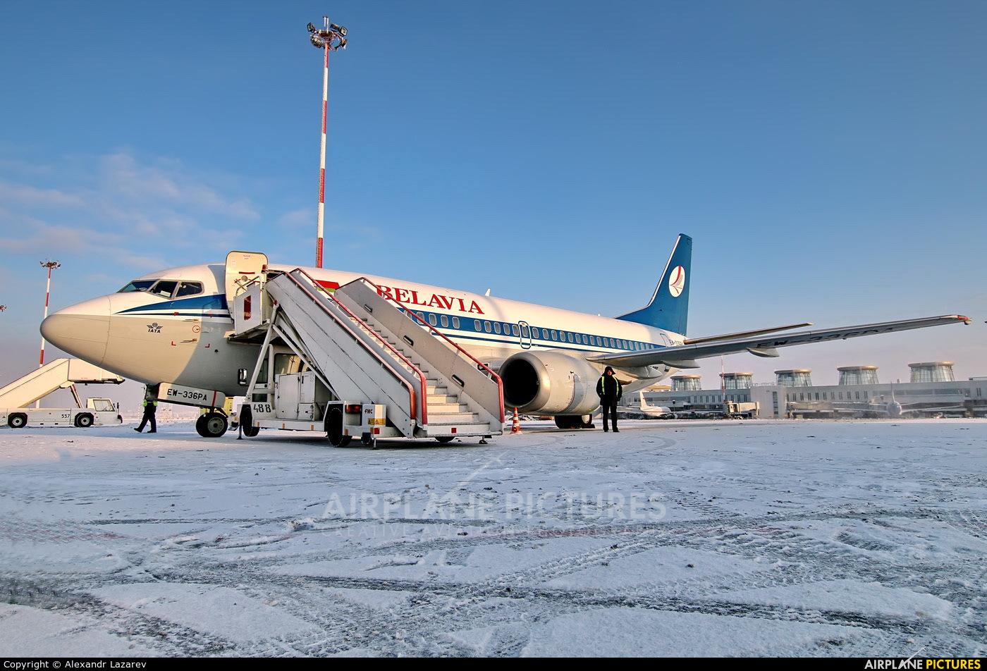 Belavia EW-336PA aircraft at St. Petersburg - Pulkovo