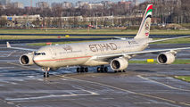 A6-EHH - Etihad Airways Airbus A340-600 aircraft