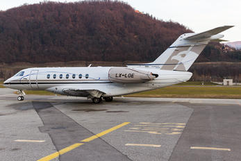 LX-LOE - Flying Group Hawker Beechcraft 4000 Horizon