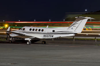 N537EM - Private Beechcraft 250 King Air