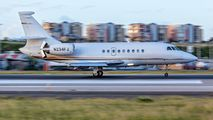 N234FJ - Private Dassault Falcon 2000 DX, EX aircraft