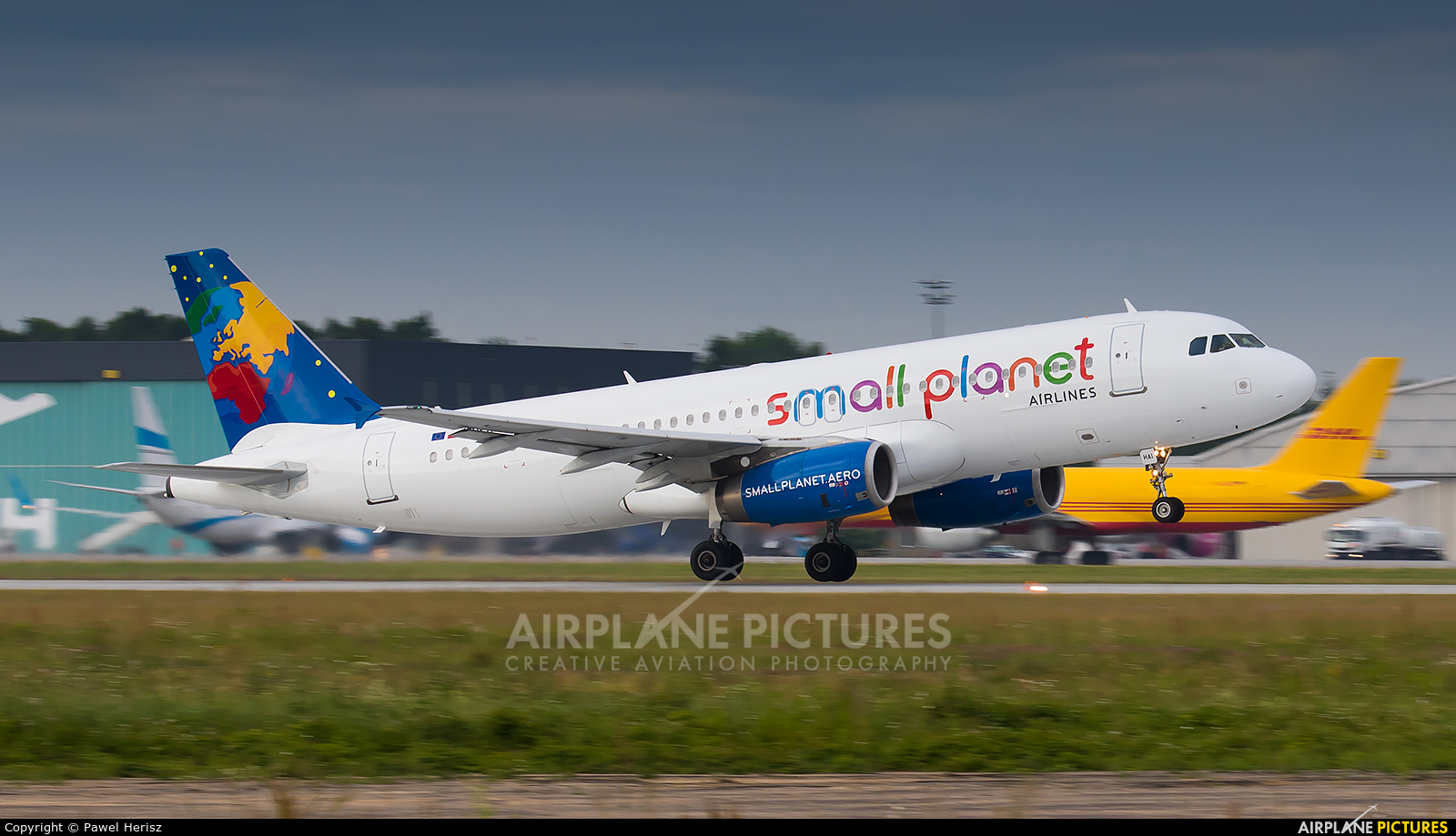 Small Planet Airlines SP-HAI aircraft at Katowice - Pyrzowice