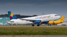 SP-HAI - Small Planet Airlines Airbus A320 aircraft