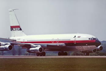 G-AVZZ - Laker Airways Boeing 707
