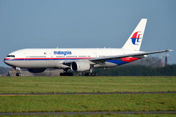 9M-MRM - Malaysia Airlines Boeing 777-200ER