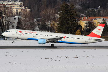 OE-LBE - Austrian Airlines/Arrows/Tyrolean Airbus A321