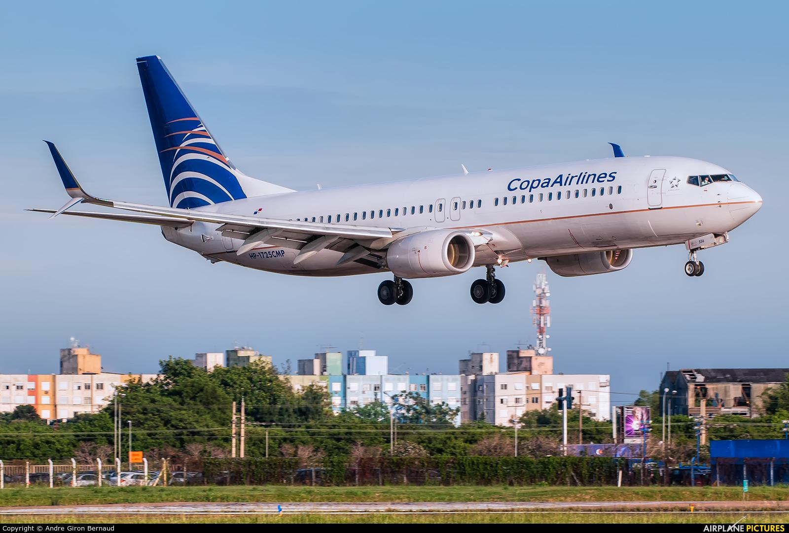 Copa Airlines HP-1725CMP aircraft at Porto Alegre - Salgado Filho