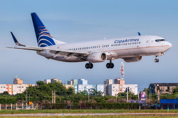 HP-1725CMP - Copa Airlines Boeing 737-800