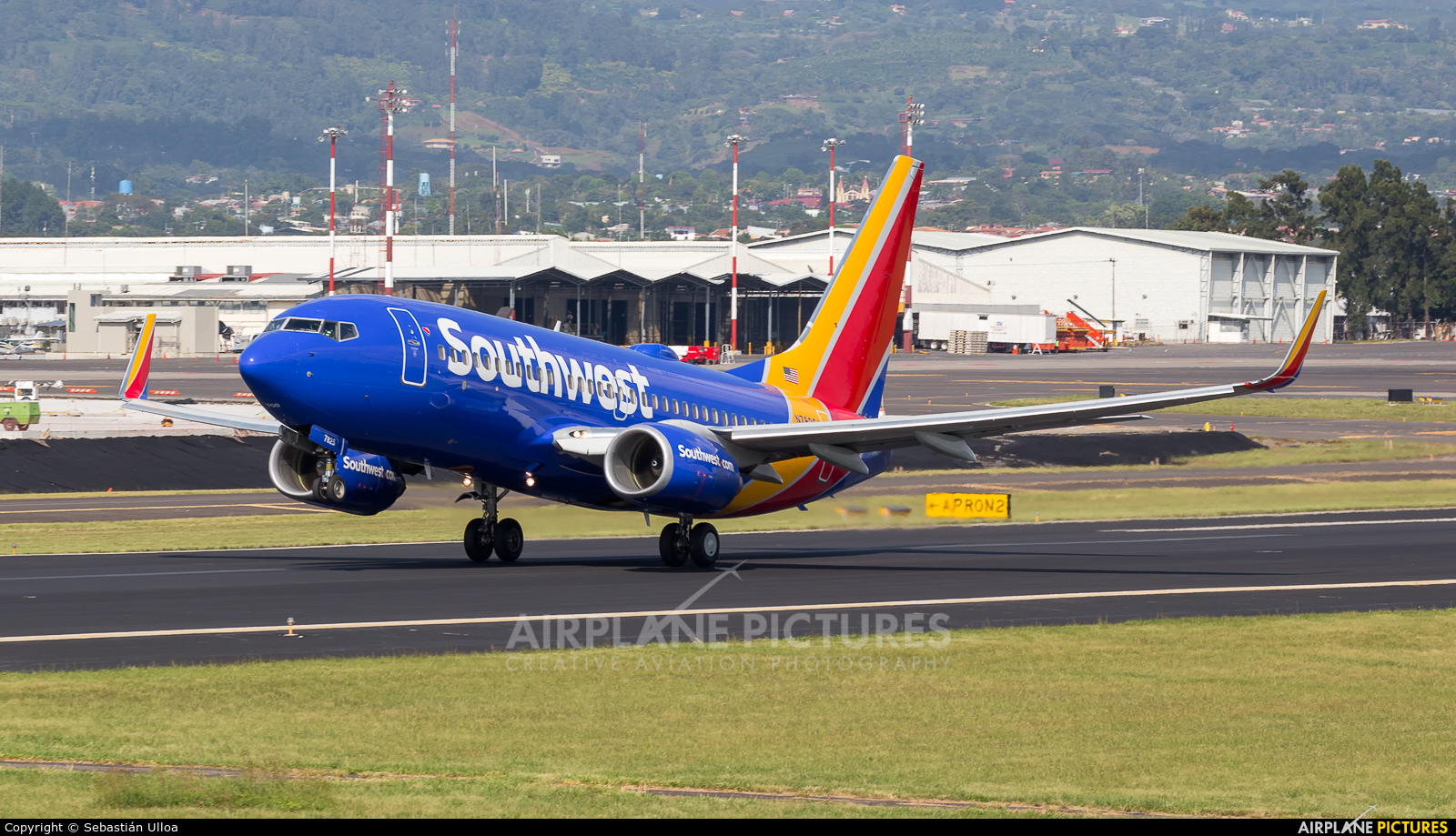 Southwest Airlines N7825A aircraft at San Jose - Juan Santamaría Intl