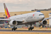HL7739 - Asiana Airlines Boeing 777-200ER aircraft