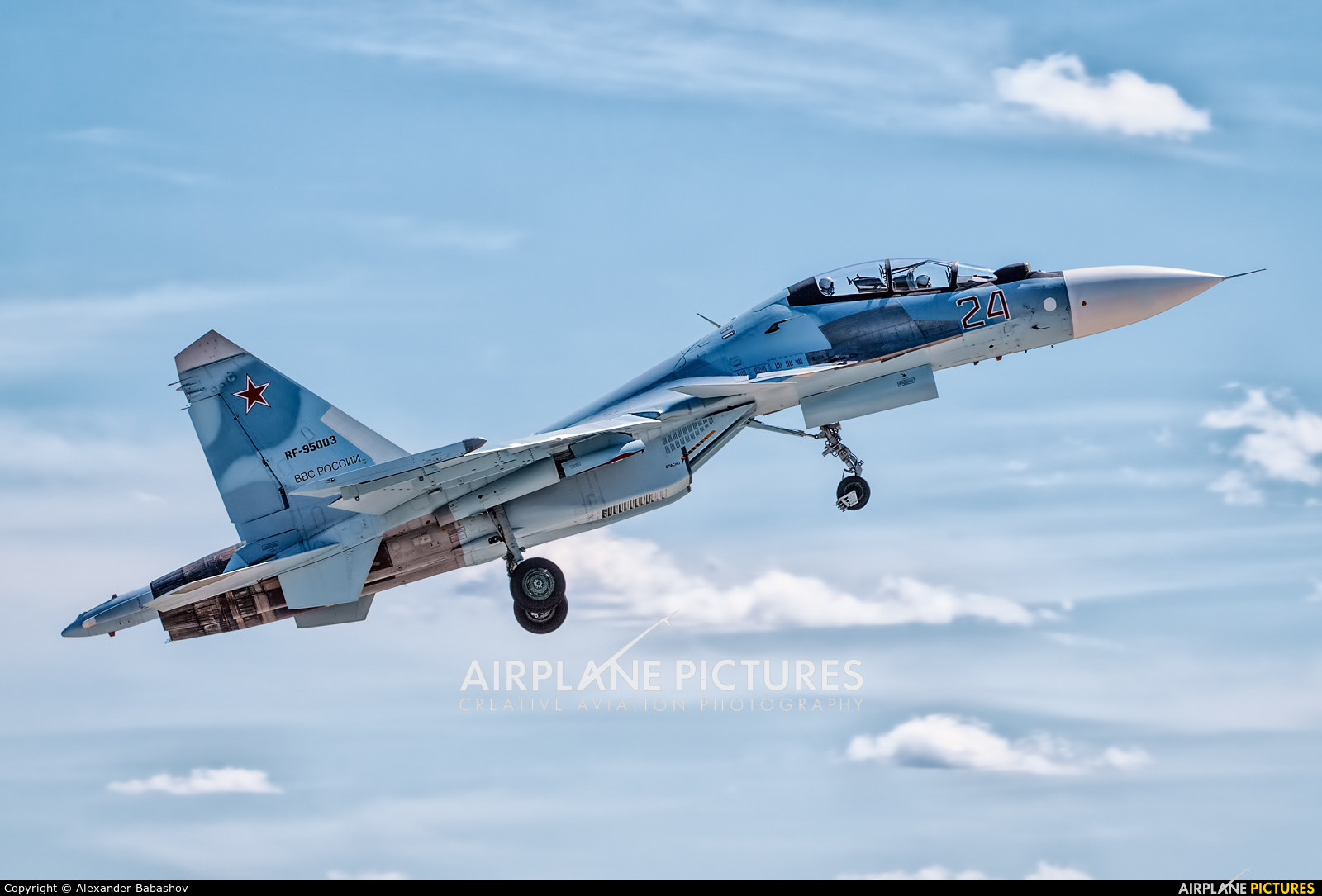 Russia - Air Force Sukhoi Su-30SM RF-95003