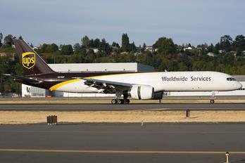 N418UP - UPS - United Parcel Service Boeing 757-200F