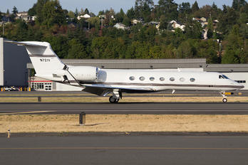 N721V - Private Gulfstream Aerospace G-V, G-V-SP, G500, G550