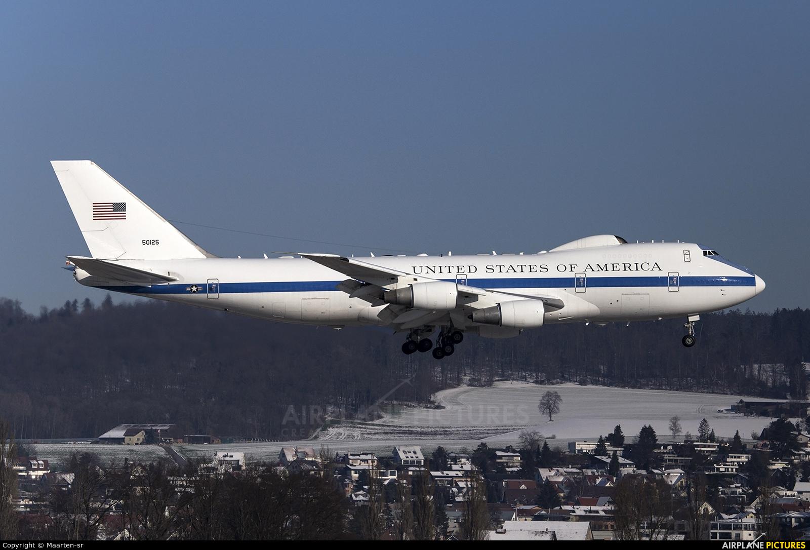 USA - Air Force 75-0125 aircraft at Zurich