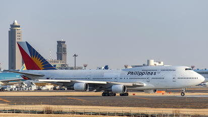 RP-C7472 - Philippines Airlines Boeing 747-400