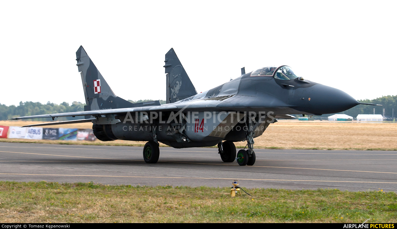 Poland - Air Force 114 aircraft at Radom - Sadków