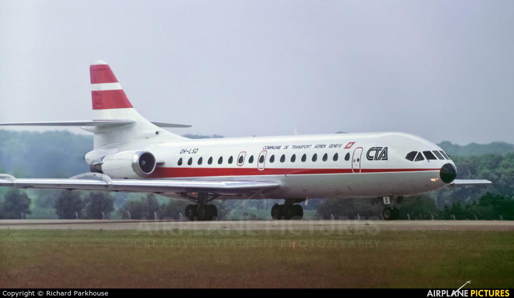 CTA Compagne de Transport Aerien Geneve OH-LSD aircraft at London - Gatwick
