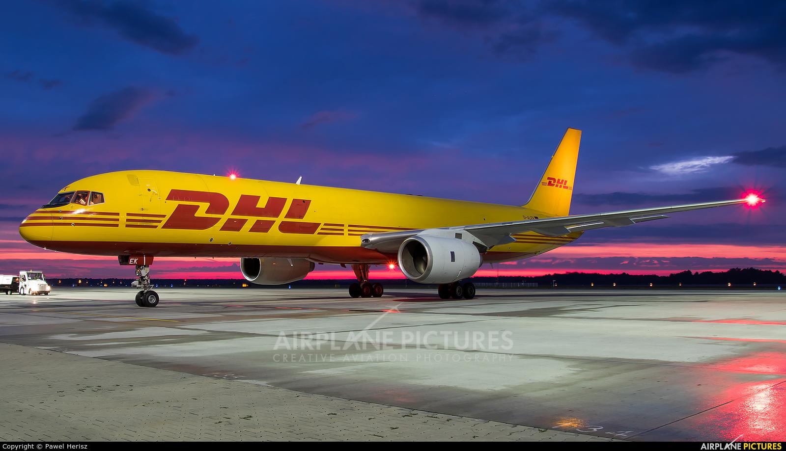 DHL Cargo D-ALEK aircraft at Katowice - Pyrzowice