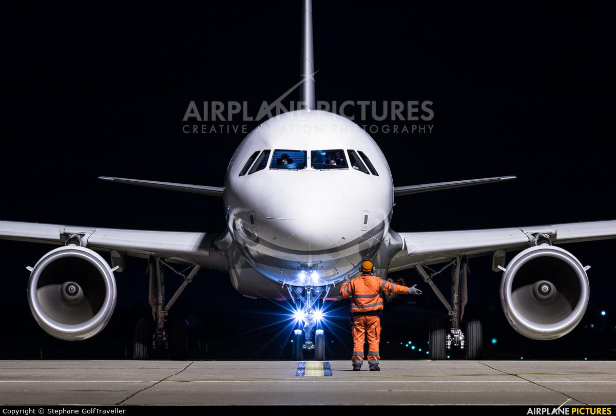 Global Jet Luxembourg LX-GJC aircraft at Strasbourg-Entzheim