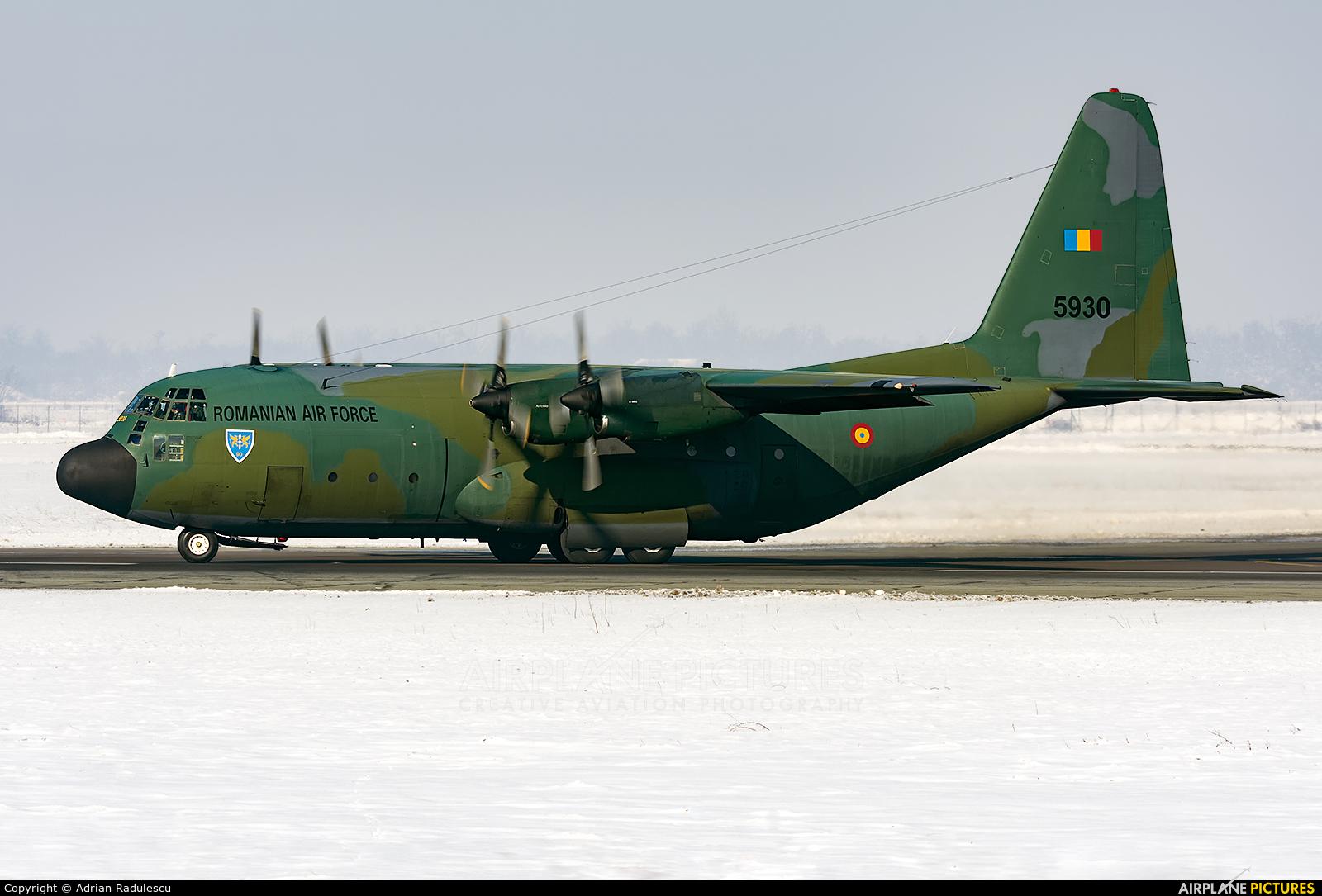 Romania - Air Force 5930 aircraft at Bucharest - Henri Coandă