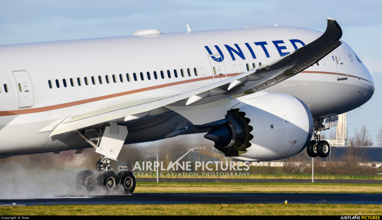 United Airlines N26960 aircraft at Amsterdam - Schiphol