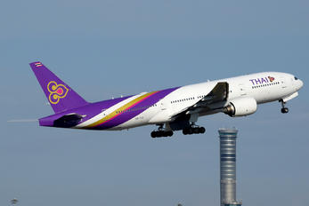 HS-TJU - Thai Airways Boeing 777-200ER