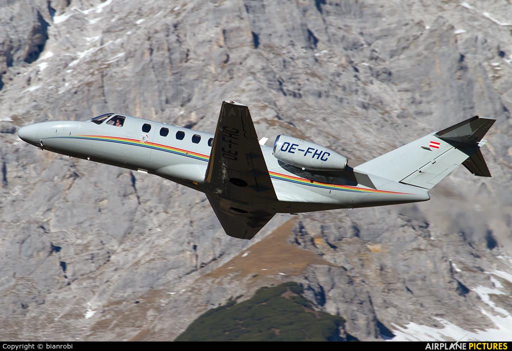 Avcon Jet OE-FHC aircraft at Innsbruck