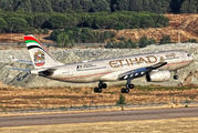 A6-EYM - Etihad Airways Airbus A330-200 aircraft