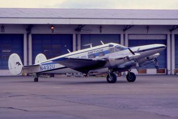 N432U - Methow Aviation Beechcraft 18 Twin Beech, Expeditor
