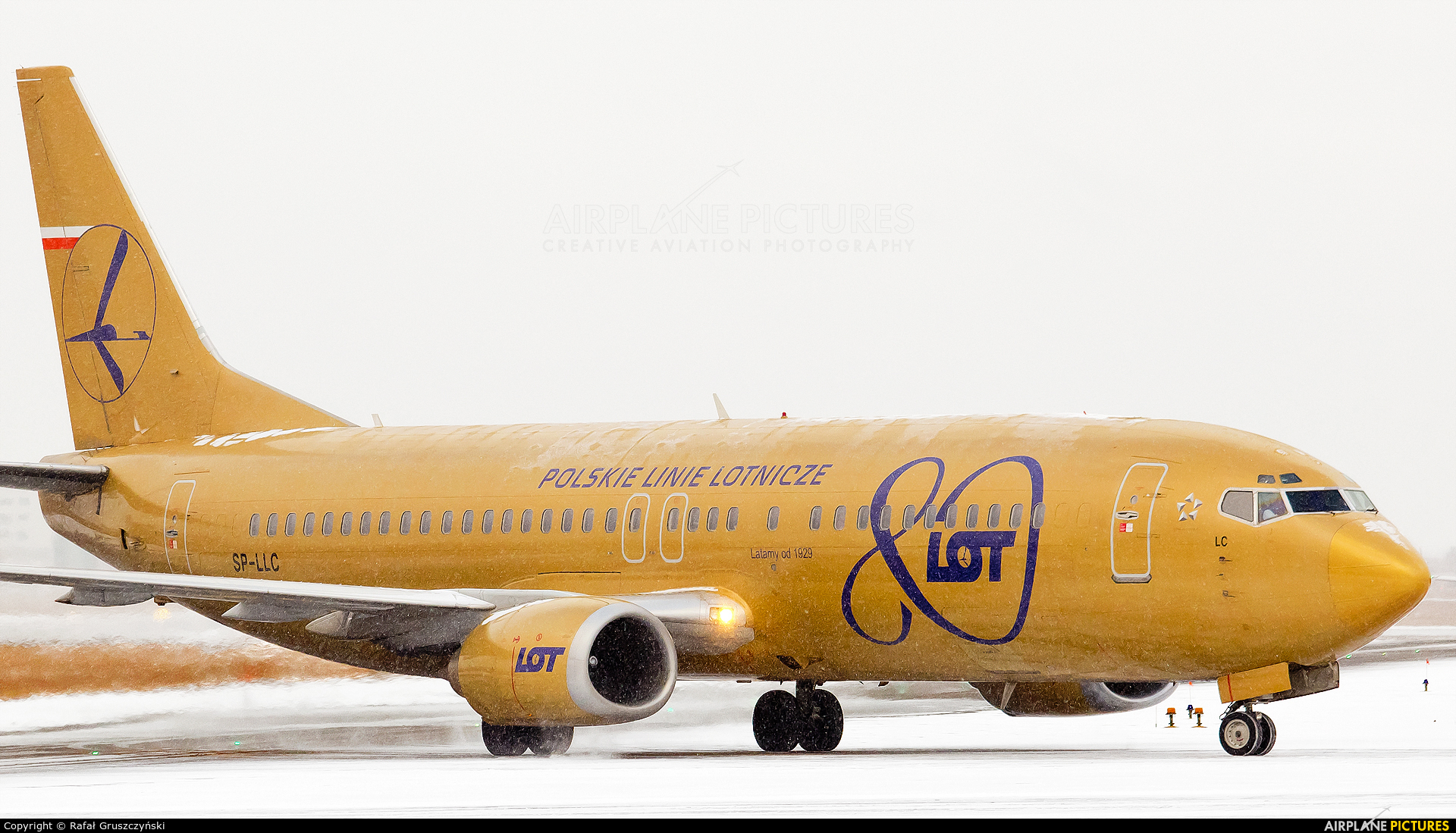 SP LLC LOT Polish Airlines Boeing 737 400 At Warsaw Frederic