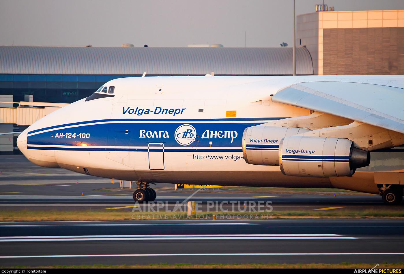 Volga Dnepr Airlines RA-82043 aircraft at Mumbai - Chhatrapati Shivaji Intl