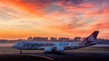 LX-VCM - Cargolux Boeing 747-8F aircraft