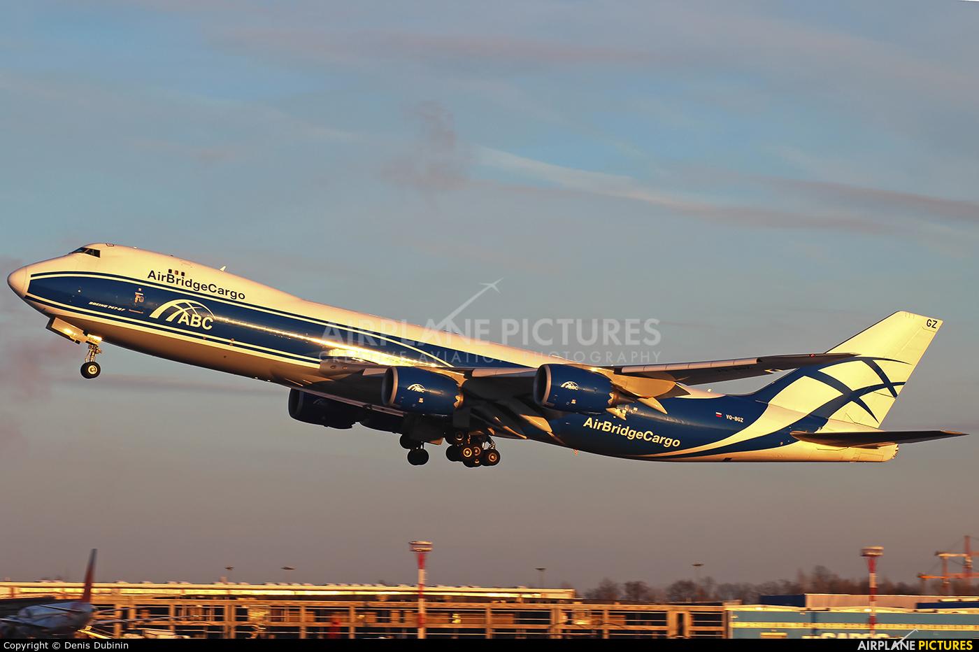 Air Bridge Cargo VQ-BGZ aircraft at Moscow - Domodedovo