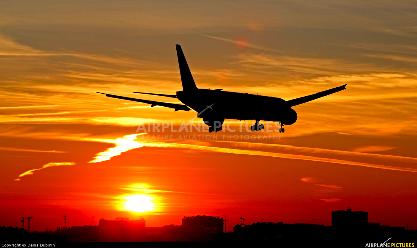 Aeroflot VQ-BUC aircraft at Moscow - Sheremetyevo