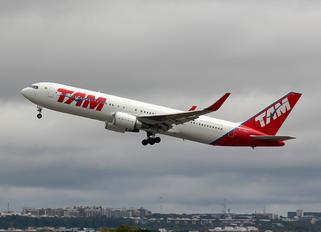 PT-MSZ - TAM Boeing 767-300ER